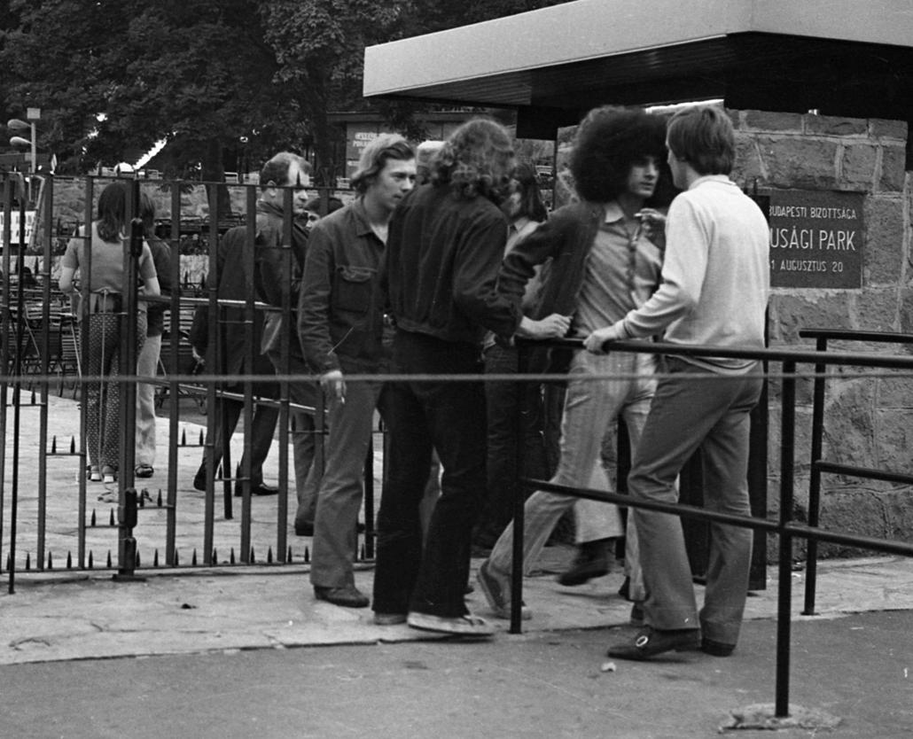 fortepan_! - 1973. körül - Budai Ifjúsági Park, Várkert bazár