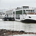 Elhagyta Esztergomot, Budapest fele tart a Viking Sigyn