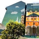Magyar népmesét festettek egy VIII. kerületi tűzfalra