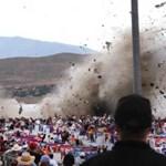 Fotók a tragédiába torkollott légibemutatóról