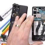 Szétszedték a Samsung Galaxy S21 Ultrát, ezt rejti a belseje – videó