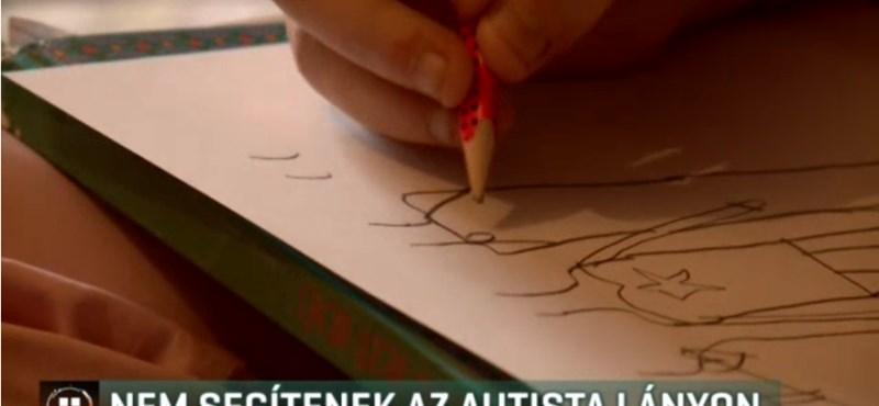 Nagyon menne már iskolába egy autista kislány, de senki sem segít neki
