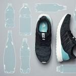 Páronként 11 db műanyag palackot halásztatott ki az Adidas az óceánból azért, hogy megcsinálja új cipőjét