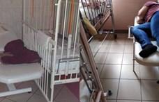 Nincs vége az ágymizériának a Debreceni Gyerekklinikán: ezen aludjon az anyuka, ha tud!