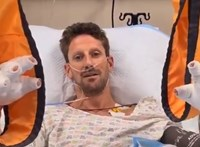 Kórházi ágyáról jelentkezett a horrorbalesetet túlélt F1-es pilóta