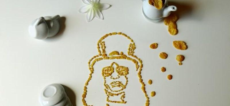 Slash, Lennon, Marley - kukoricapehelyből