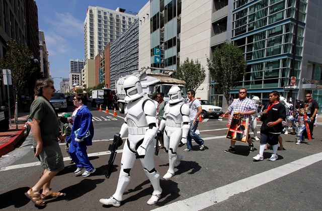 Képregény találkozó San Diegóban