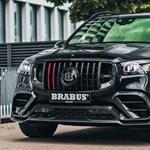 Politikailag abszolút nem korrekt a Brabus 800 lóerős új Mercedes divatterepjárója