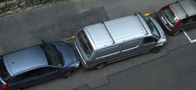 Élesben is elindult az V. kerületi parkolóhely-kereső app