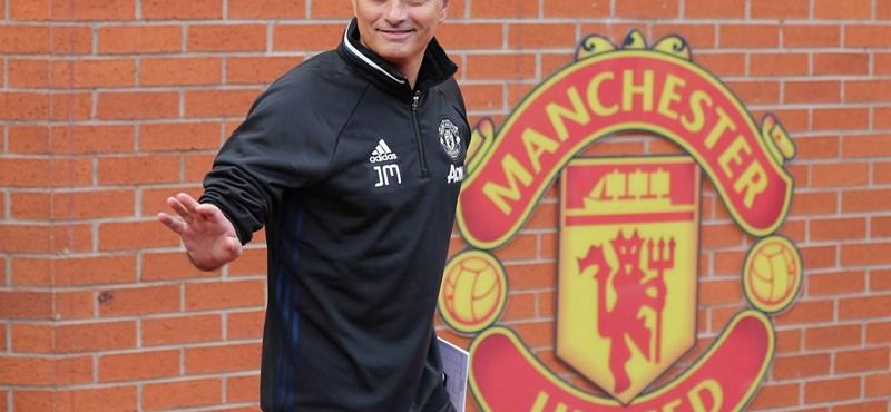 Fotó: Mourinho már a Manchester Unitednél