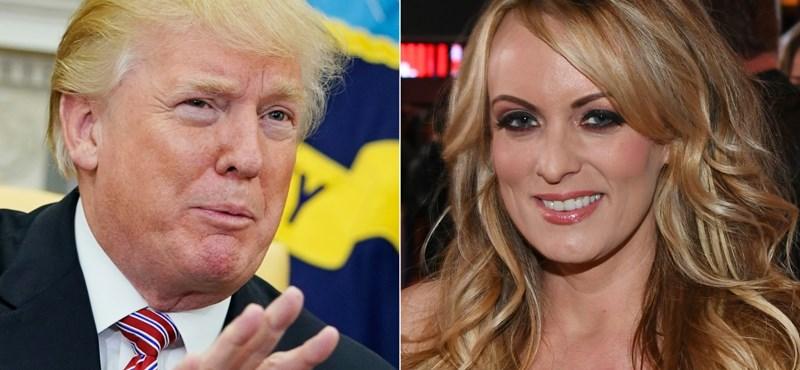 Mégis fizethetett a pornószínésznőnek Donald Trump