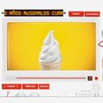 Utazz vissza 30 évet a McDonald's-szal! (videó)