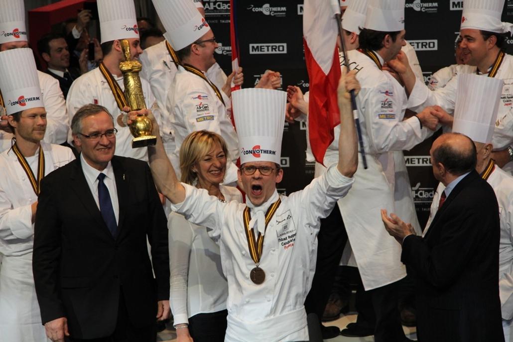 bocuse d'or szakácsverseny lyon Thibaut Ruggeri