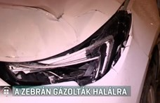 Zebrán gázoltak halálra egy nőt Budapesten