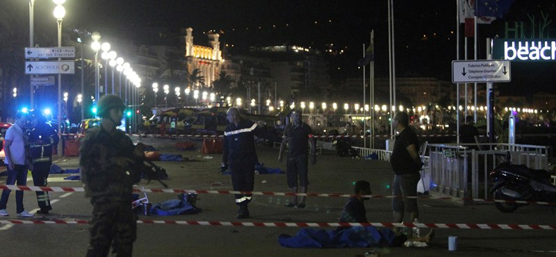 Megrázó felvételek a nizzai támadás helyszínéről