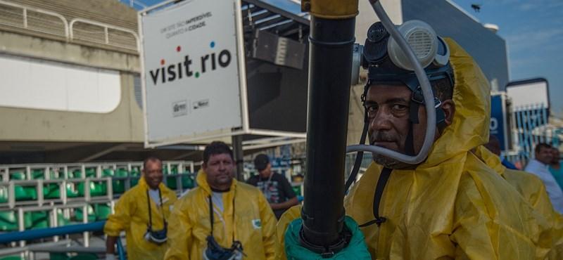 Rio ötkarikás rémálma – már az is jó, ha tragédia nem történik