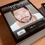 A nap kütyüje - iPhone névjegykártya