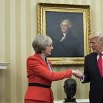Theresa May beszólt Trump beutazási tilalmára