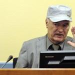 Mladics megjelent a hágai törvényszék előtt