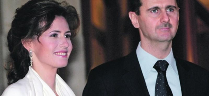 Hivatalos: kitiltották a szír elnök feleségét az EU-ból