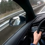 Alig pár hetes az Audi RS Q8, már kipróbálták 303-mal az autópályán