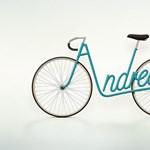 Egy megszállott tipográfus bringája