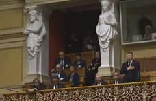 Kövér László elment a svájci parlamentbe, mire a szocialisták és a zöldek kivonultak