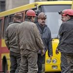 33 vájár holttestét hozták ki a donyecki bányából