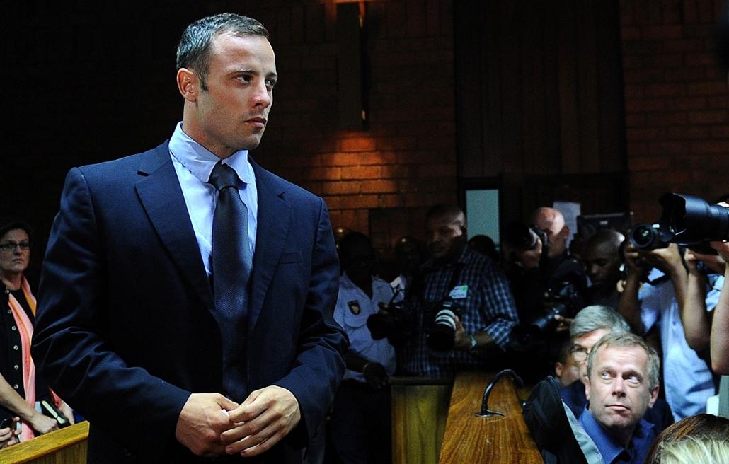 13.02.22. - Pretoria, Dél-Afrika: Oscar Pistorius a bíróságon. - évképei, az év sportképei