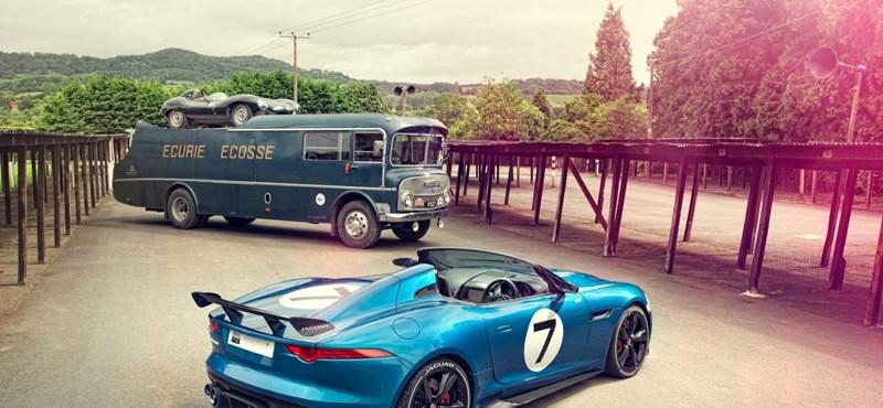 A Le Mans-i győzelmeik ihlették a Jaguar egyedi sportautóját