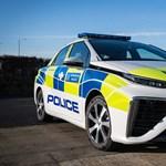 Londonban már hidrogénes rendőrautókkal járőröznek