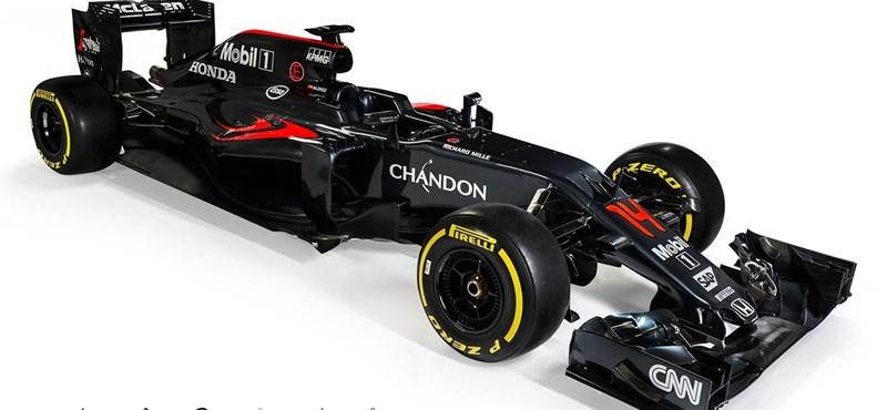 Lehullt a lepel a McLaren idei Forma–1-es autójáról