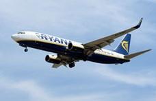 Nagy bunyó volt a Ryanair egyik járatán