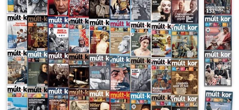 44 lapszámnyi izgalmas történelem: a Múlt-kor ingyenessé tette digitális archívumát