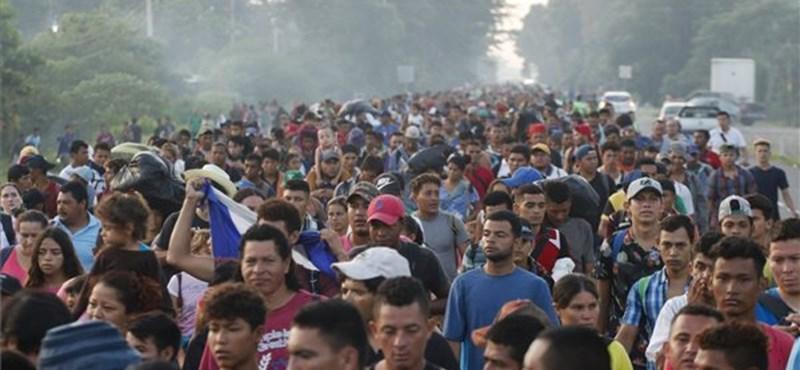 Mexikóvárosba ért a menekültkaraván
