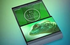 Mint régen a kagylóhéj formájú mobilok, olyan lesz a Motorola RAZR összehajtható telefon