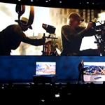 Elromlott a súgógép, kínos jelenet a színpadon a Samsungnál