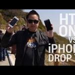 Törésteszt: HTC One vs. iPhone 5