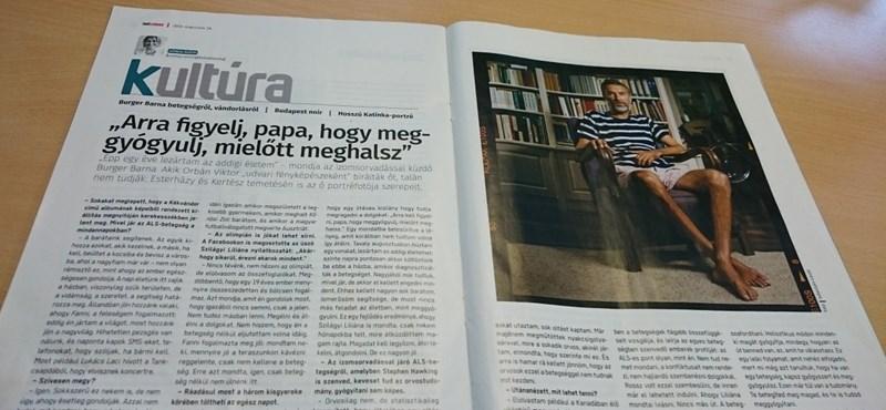 Burger Barna nem bánja, hogy Orbán udvari fotósának tartják