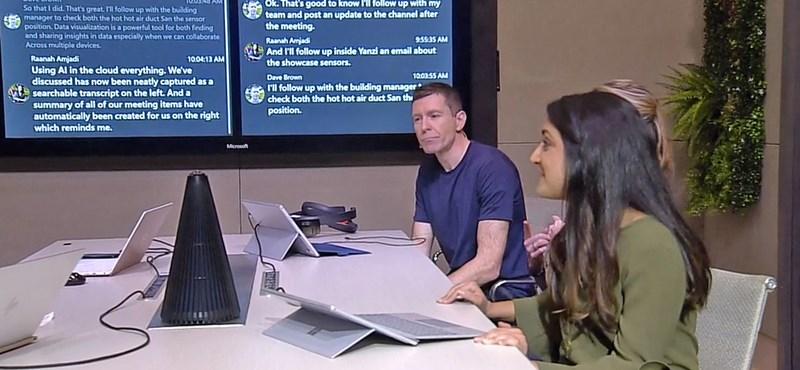 A Microsoft kitalált valamit, ami alaposan megváltoztathatja, amit most egy értekezletről gondolunk