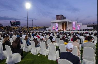 Kurdisztán székhelyén, Erbílben pontifikált szentmisét Ferenc pápa