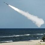 Izrael lőtte ki a ballisztikus rakétákat a Földközi-tengeren