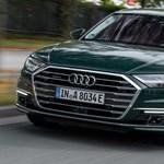 40 kilométer elektromosan, ezt tudja a legújabb Audi A8