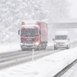 Egy 9 éves kisfiú is a havazás áldozatai között Németországban
