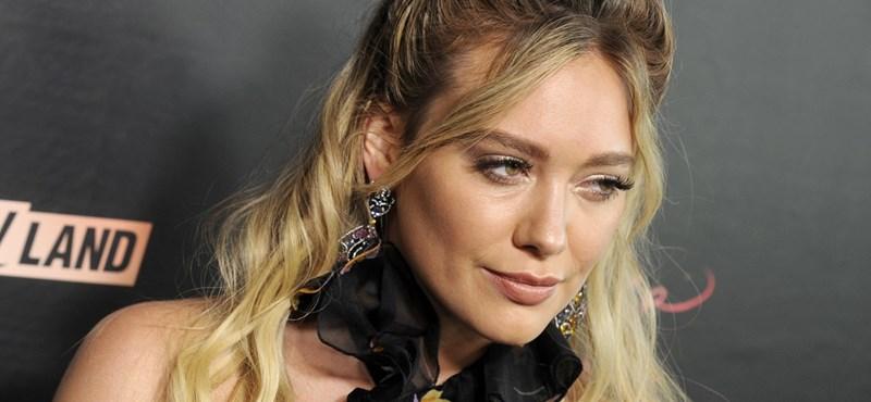 Saját placentájából készített smoothie-t Hilary Duff