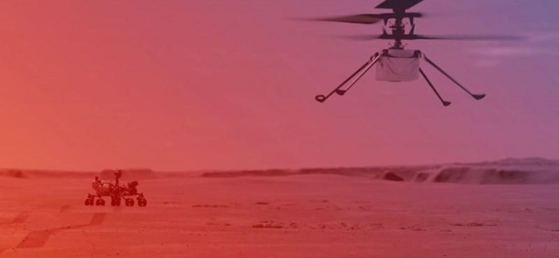 Ugyanaz a processzor dolgozik a NASA marsi helikopterében, mint a régi androidos mobilokban