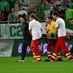 Defibrillátort vittek be egy Fradi-játékosnak a Vasas-meccsen