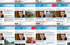 Csak idén hatezer olvasót vesztettek a kormánykézbe került megyei lapok