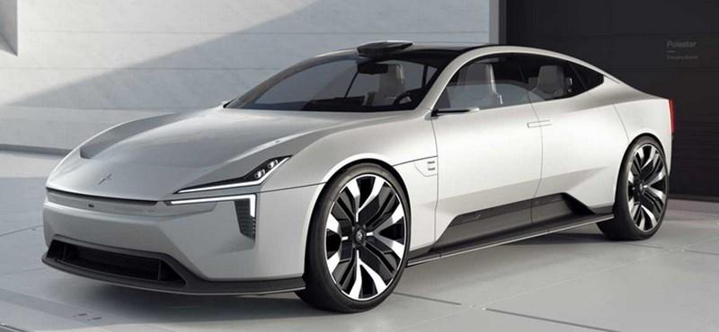 Gyártásba kerül a Polestar futurisztikus androidos új villanyautója