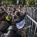 Elszakadt a cérna a menekülteknél Röszkén - a szerdai események összefoglalója